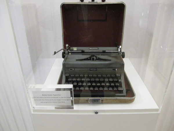 Alistair Cooke typewriter