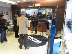 The motley crew makes a radio play 2