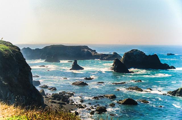 Northern California Coast II,  Oct. 4th 1987