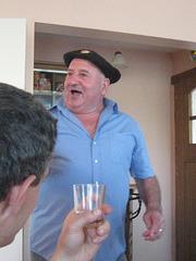 The singing Basque in Ostabat