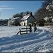 snow at Binsey