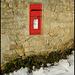 post box at Binsey