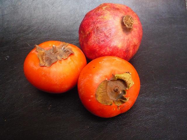 Tres frutos