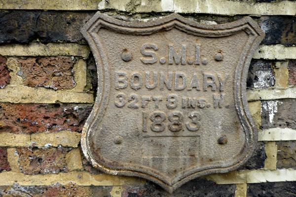 St Mary's Islington, Parish Boundary Marker