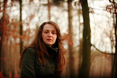 Lucia In Autumn Wood 1