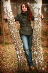 Lucia In Autumn Wood 3
