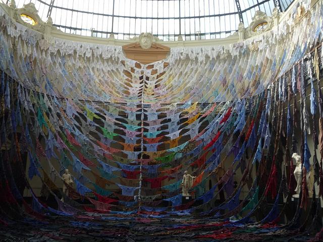Exposición en el Palacio de Bellas artes