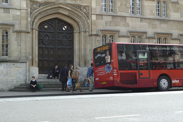 Oxford 2013 – Bus stop High Street