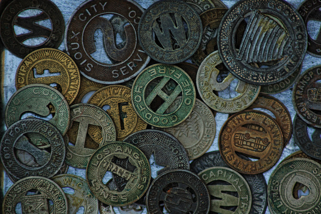 Street Car Tokens