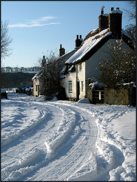 winter at Binsey