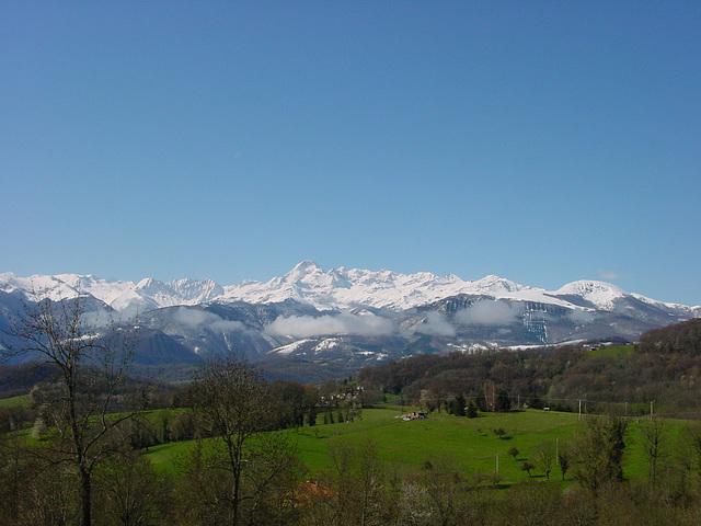 Chaîne du Mont Vallier