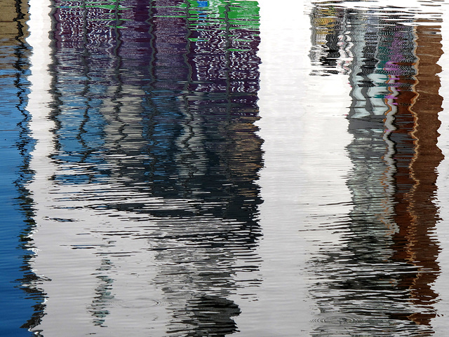 Grand Union Canal Reflection 5