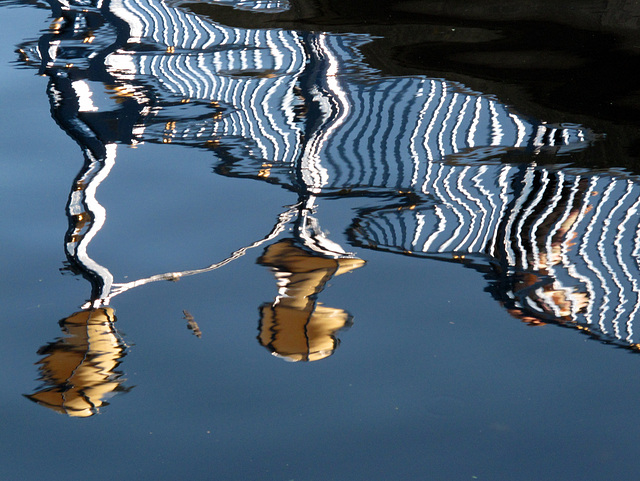 Grand Union Canal Reflection 6