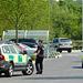 Accident Scene at Whiteley - 6 June 2013