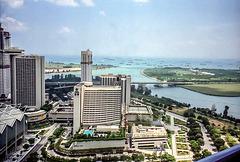 Singapore - Marina Bay View, Dec. 1995 (105°)