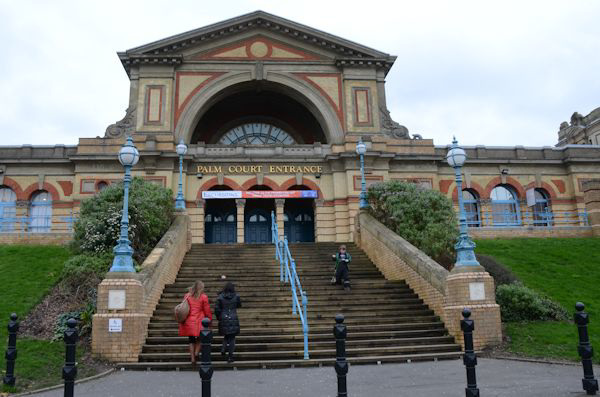 Ally Pally, Palm Court entrance