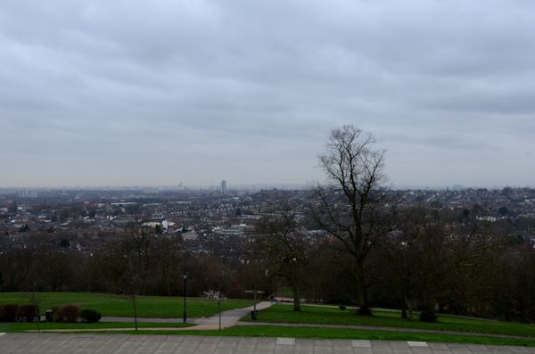 Grey over London