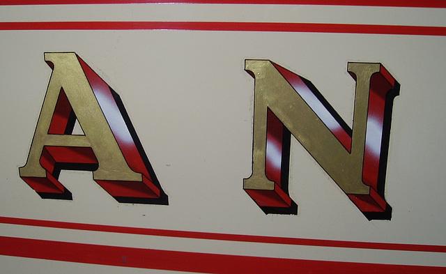 BM Tram - Sunderland 16 - letters 4