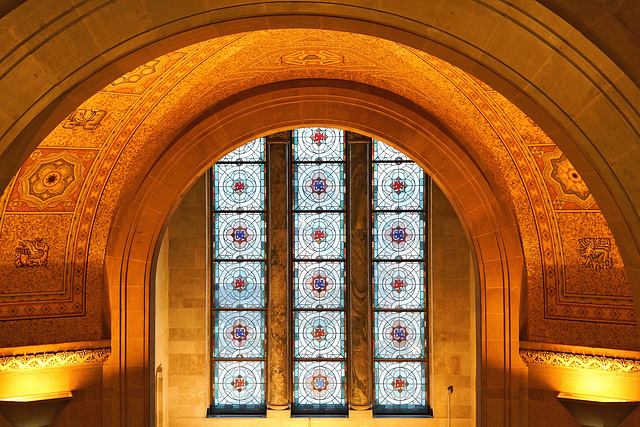 Above the Stained Glass Windows – Royal Ontario Museum, Bloor Street, Toronto, Ontario