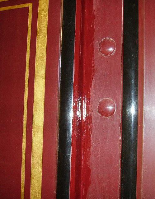 BM Tram - Sunderland 16 - painted joint