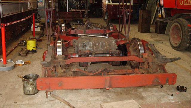 BM Tram - Sunderland 16 - truck out