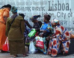 Gathering of women...