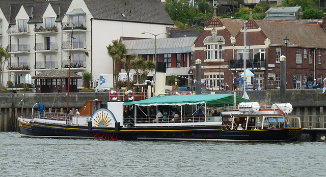 Paddle Steamer 'Kingswear Castle' at Dartmouth