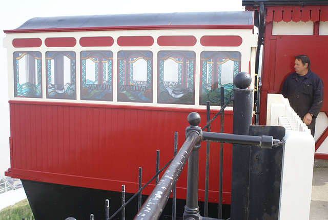 SCL - rebuilt Marske car at top