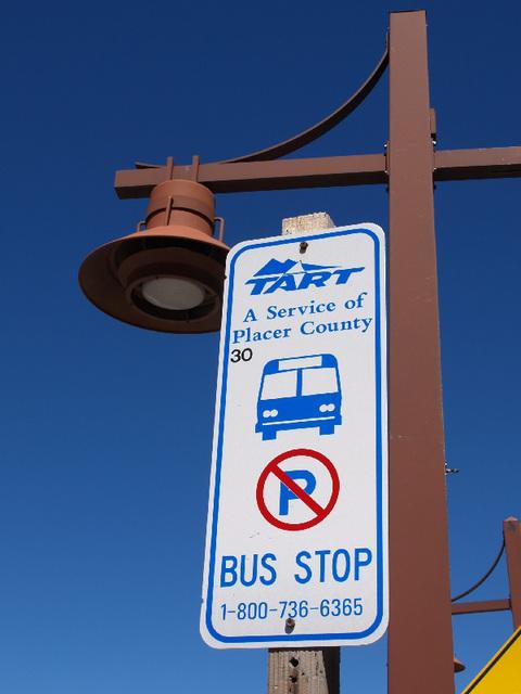 TART Bus Stop (p9012549)