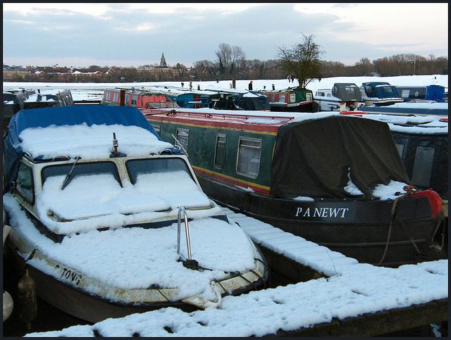 winter at Medley Marina
