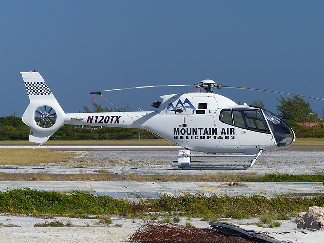 N120TX at Grand Turk - 28 January 2014