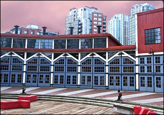 The Round House in Vancouver, BC
