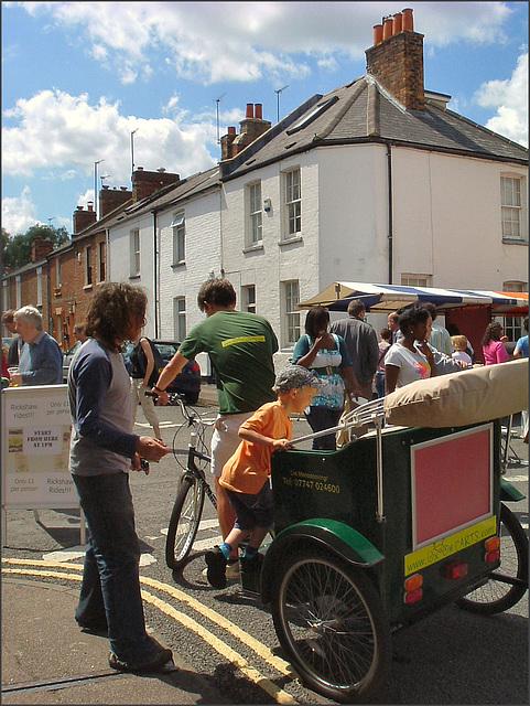 Jericho rickshaw