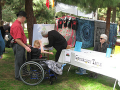 Genealogical Map, St. David's Day Festivities, Barnsdall Art Park