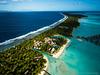 InterContinental Bora Bora Resort & Thalasso Spa seen from a kite