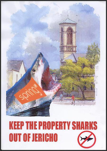 Jericho shark poster