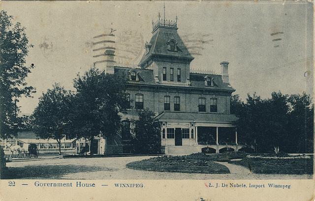 Government House - Winnipeg.