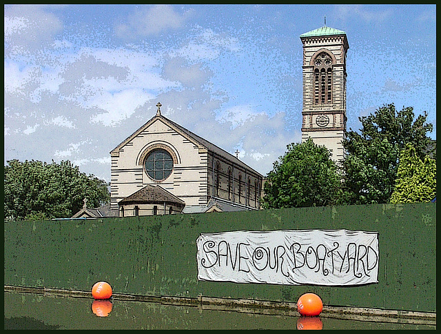 Save Our Boatyard (poster)