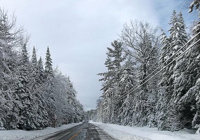 winter drive