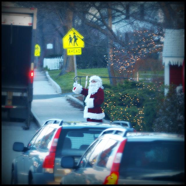 thumbs up for Santa!