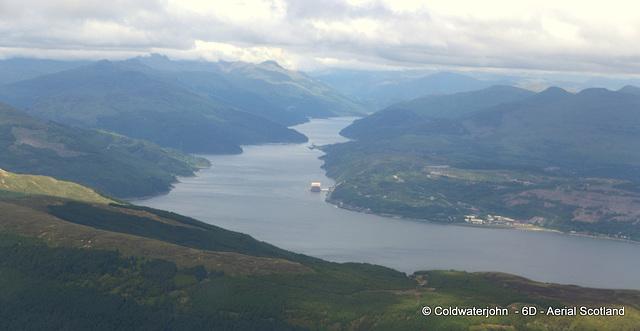 Loch Long - Aerial