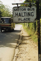 Bus stop, Kandy