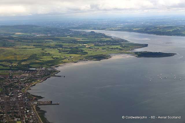 Firth of Clyde, and Helensburgh - Aerial