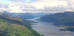 Aerial - Loch Lomond