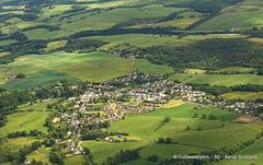 Kippen, Stirlingshire - Aerial
