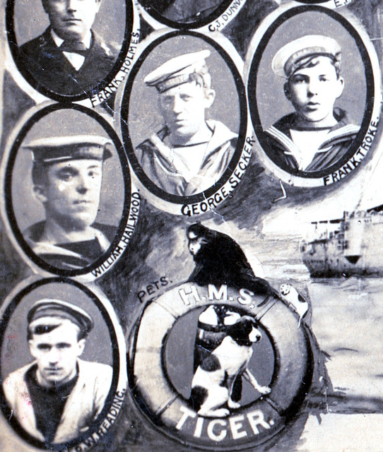 The sinking of HMS Tiger 2nd April 1908