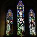 tolpuddle church , dorset; c19 glass by heaton butler and bayne 1866