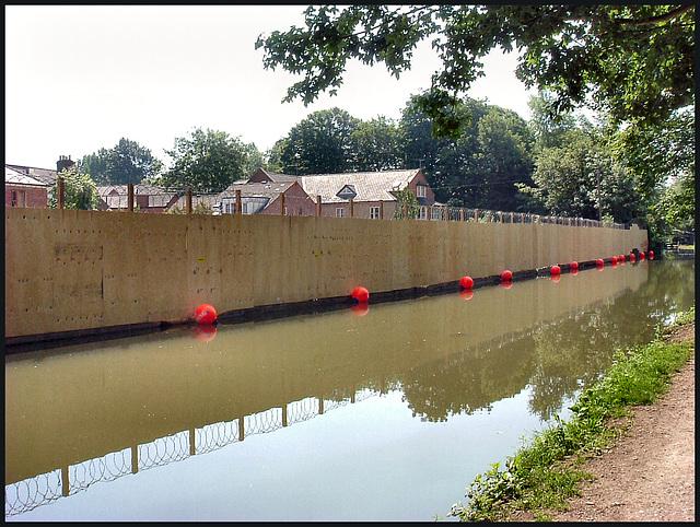 21st century canal scenery
