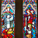 tolpuddle church , dorset;c19 glass by bayne for clayton and bell 1860
