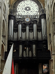 P6159722ac Rouen Cathedral Ends Armada 2013 by a Free Grand  Organ Concert
